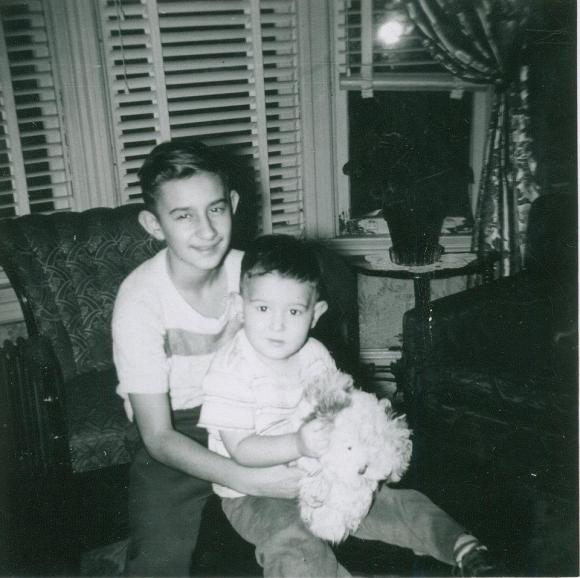 My Dad and his younger brother Anthony. Early '50s