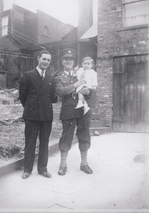 My Grandfather, left, with brother Dominick, who was KIA in WWII