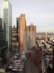 The view from my New York City hotel room - taken with my new iPhone